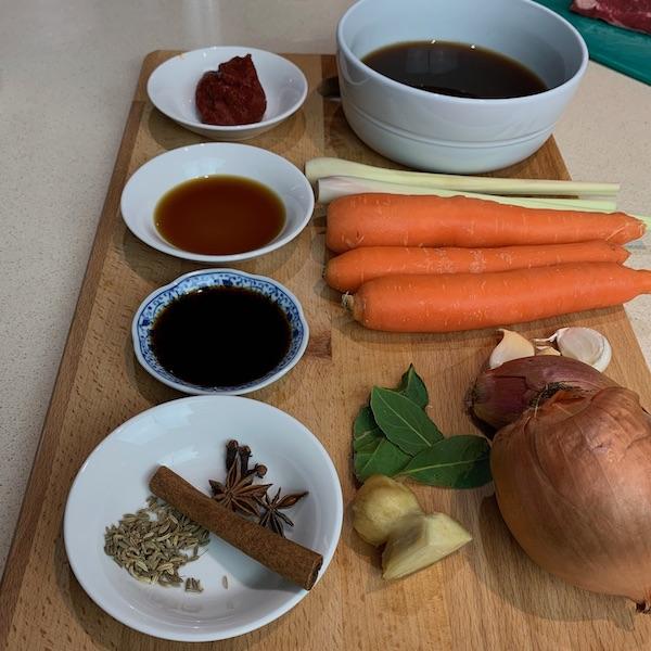 lemongrass beef ingredients