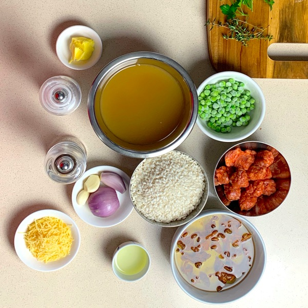 Italian Sausage Risotto Ingredients