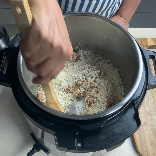 Arborio Rice Instant Pot Risotto