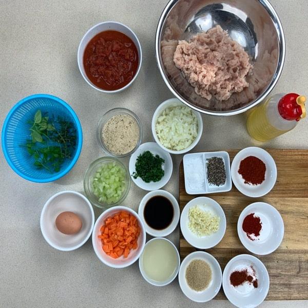 chicken meatballs ingredients