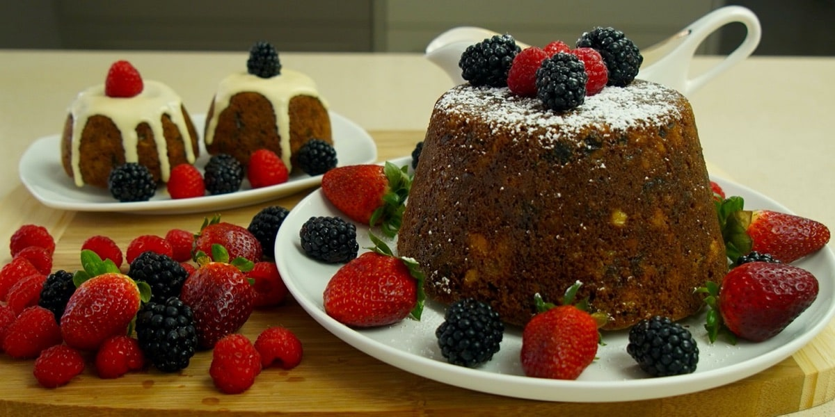 christmas steamed pudding pressure cooker