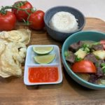 soto betawi pressure cooker plated