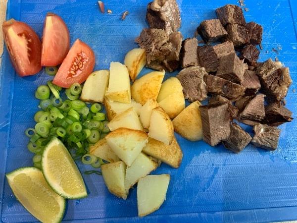soto betawi pressure cooker cut potato