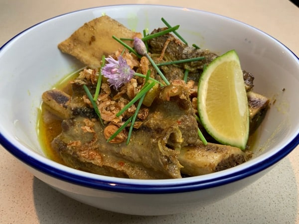 pressure cooker indonesian beef ribs soup