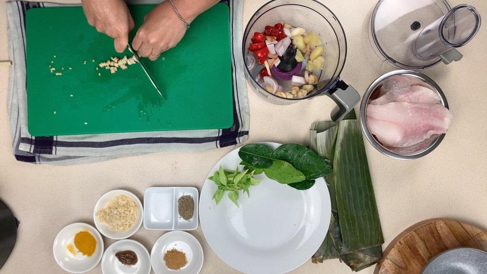 fish paste food precessor