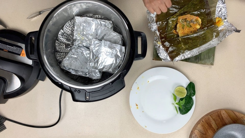 cook fish in pressure cooker