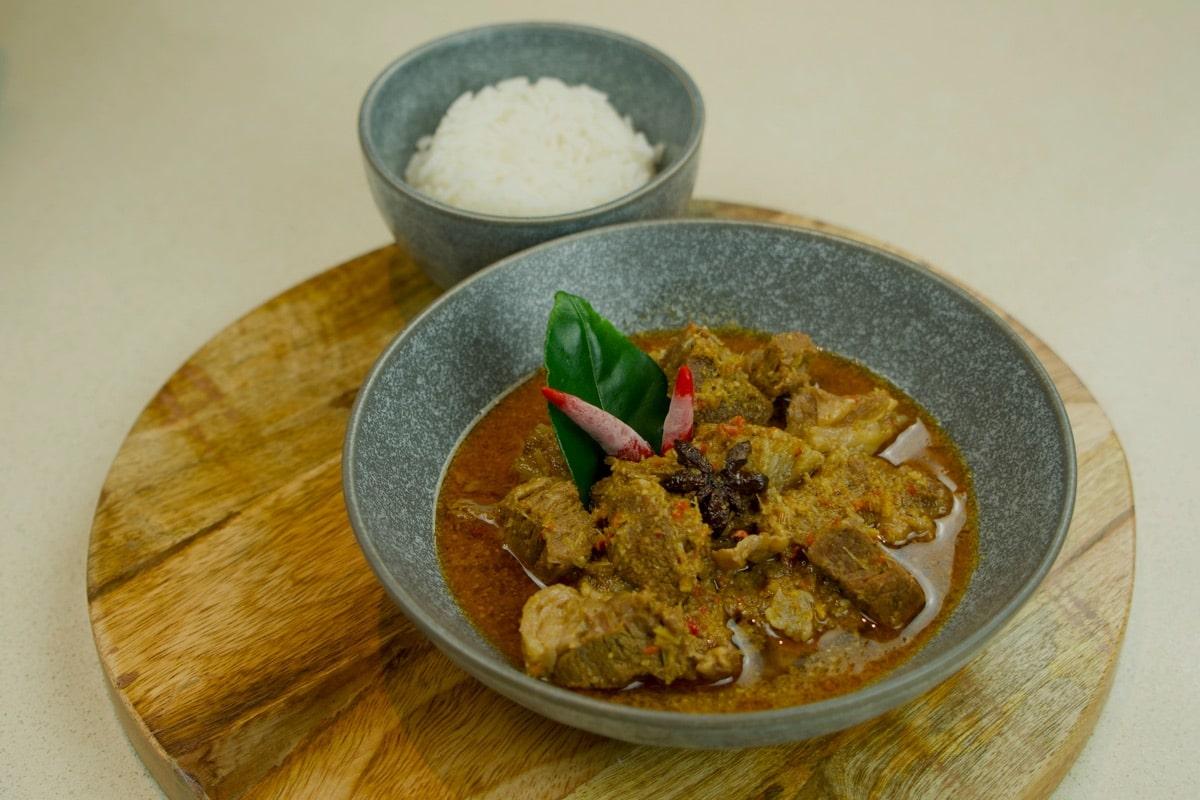Indonesian Beef Pressure Cooker daging cincang resep