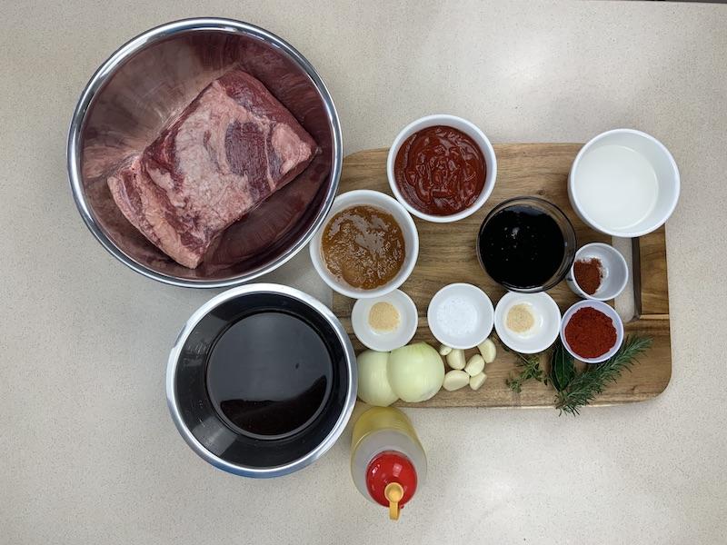 Beef Bourbon Ingredients