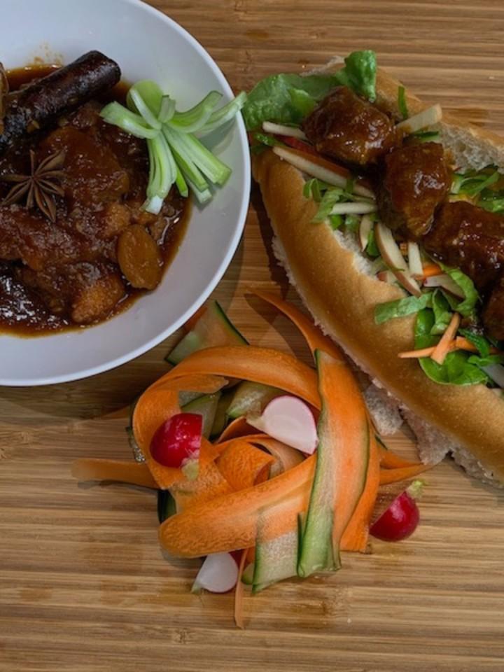 lemongrass beef Bo Kho
