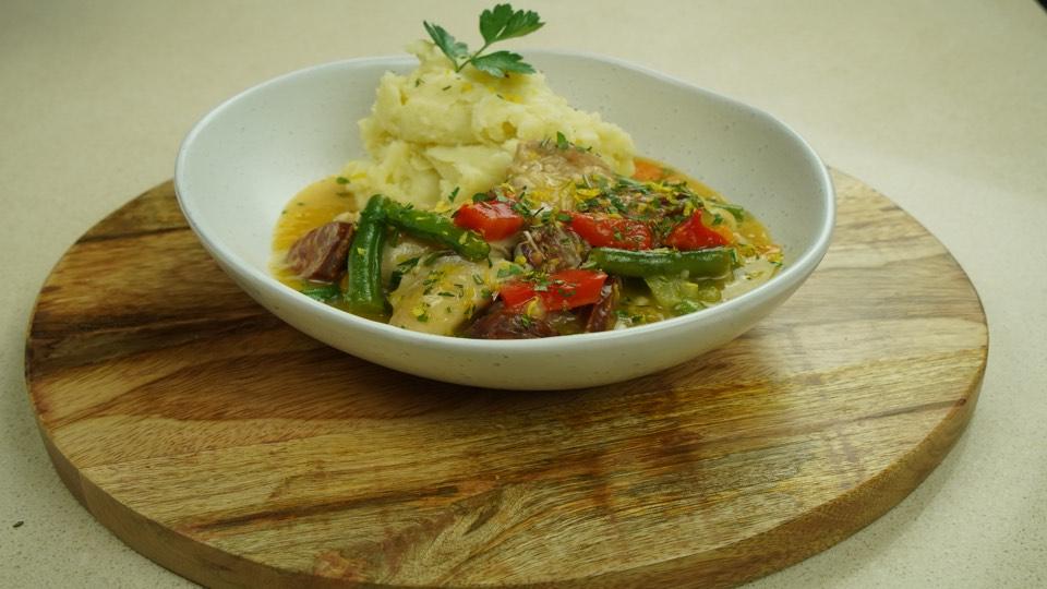 Pressure Cooker Chicken Stew - Tuscan Recipe