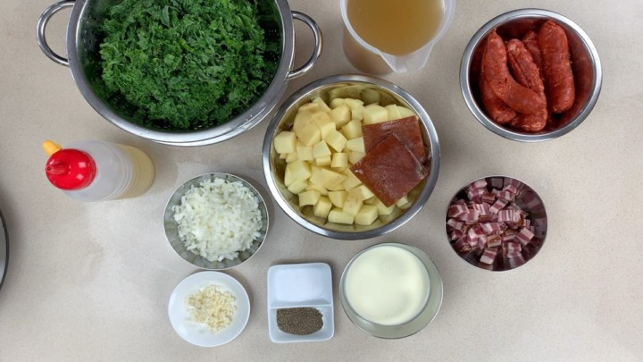 Ingredients For instant pot zuppa toscana