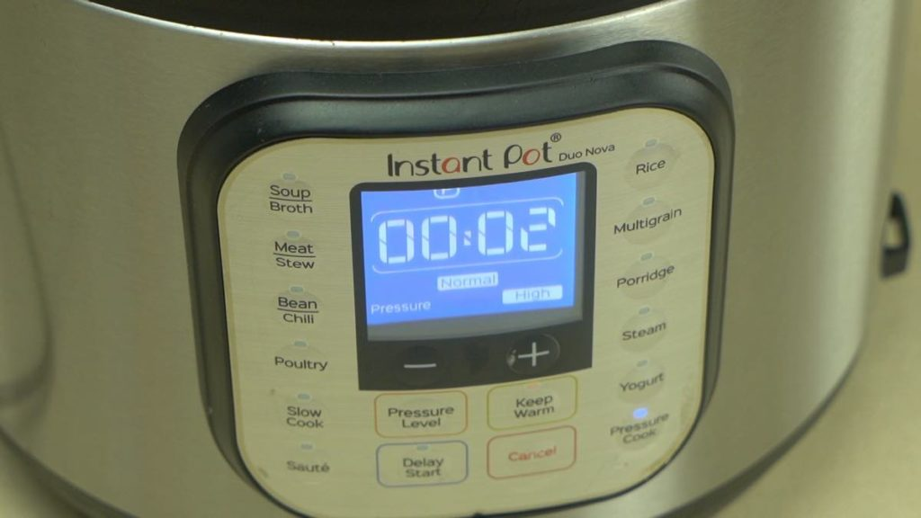 Instant Pot Hard Boiled Egg Cooking Time 2 Minutes