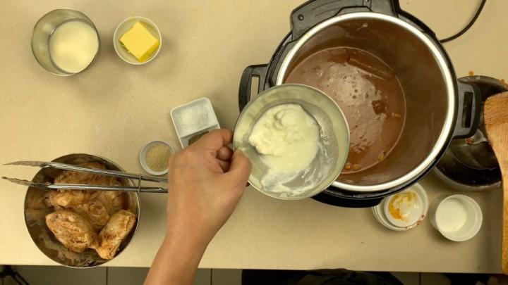 Add Yoghurt