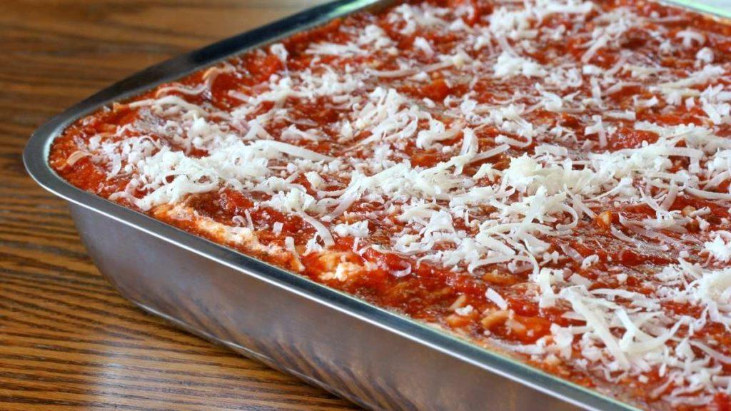 Unbaked Lasagna