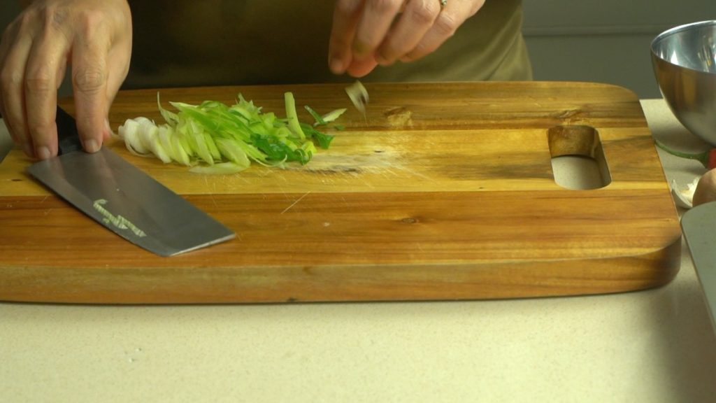 Slice Green Onion