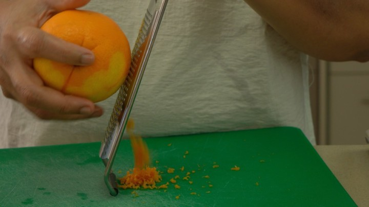 How To Zest An Orange For Strawberry Pancake Mix