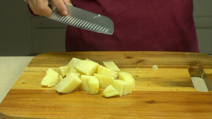 Potato Rough Cut