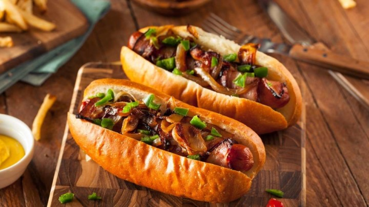 For a crowd, a party or large group you should buy 2 or 3 hot dogs per person