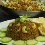 Garnished Nasi Goreng