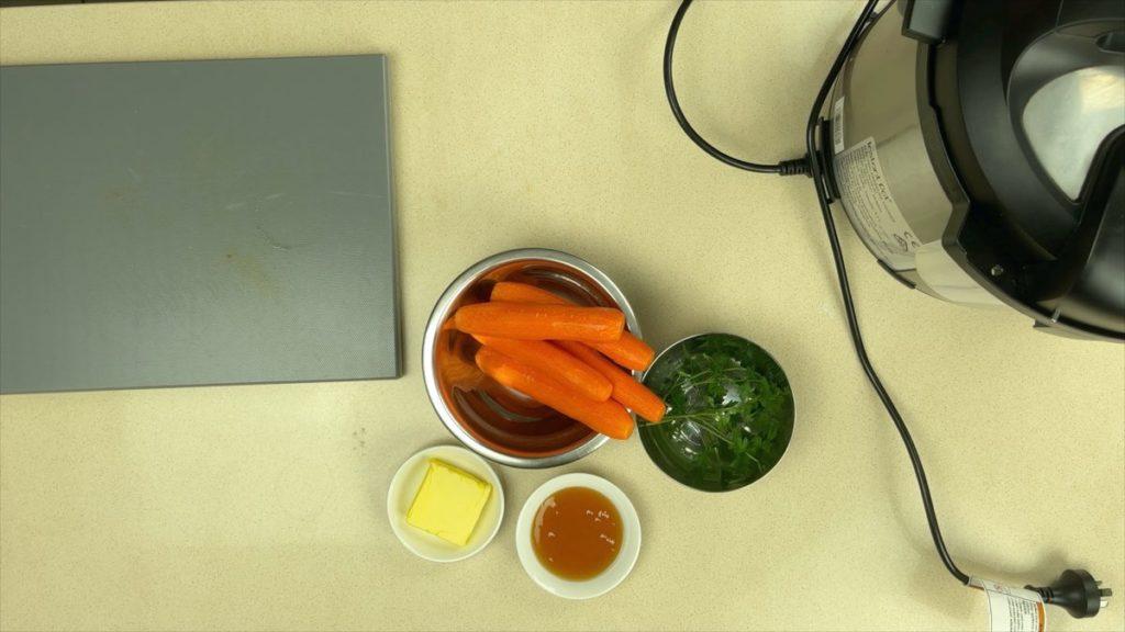 Honey Glazed Carrots Instant Pot Ingredients