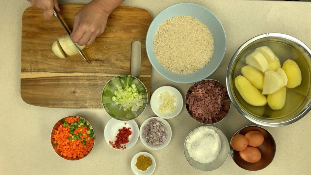 Potato Croquette Ingredients