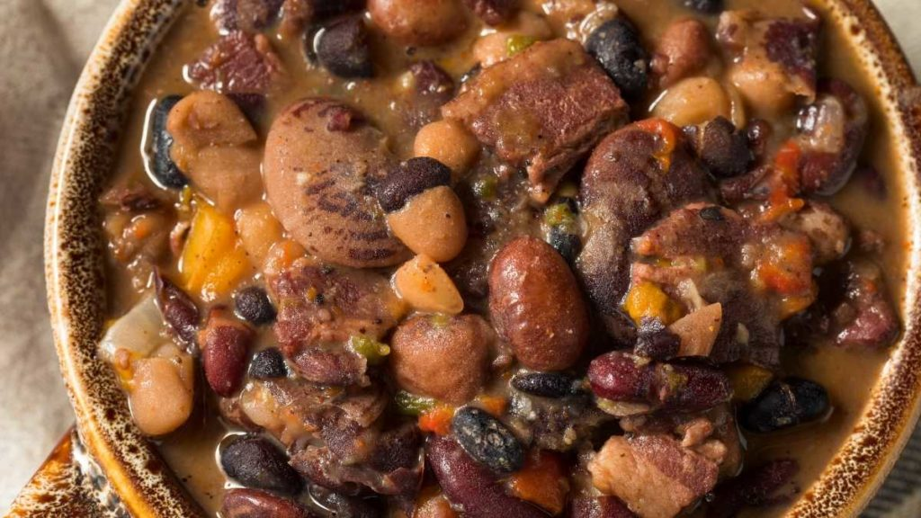 baked beans from pork and beans