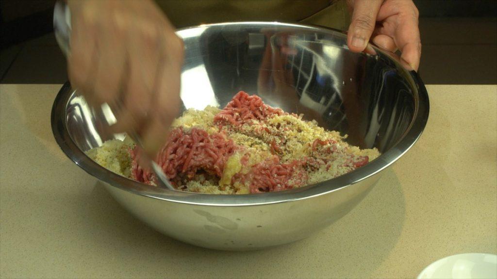 Mix To Make Salisbury Beef Patty