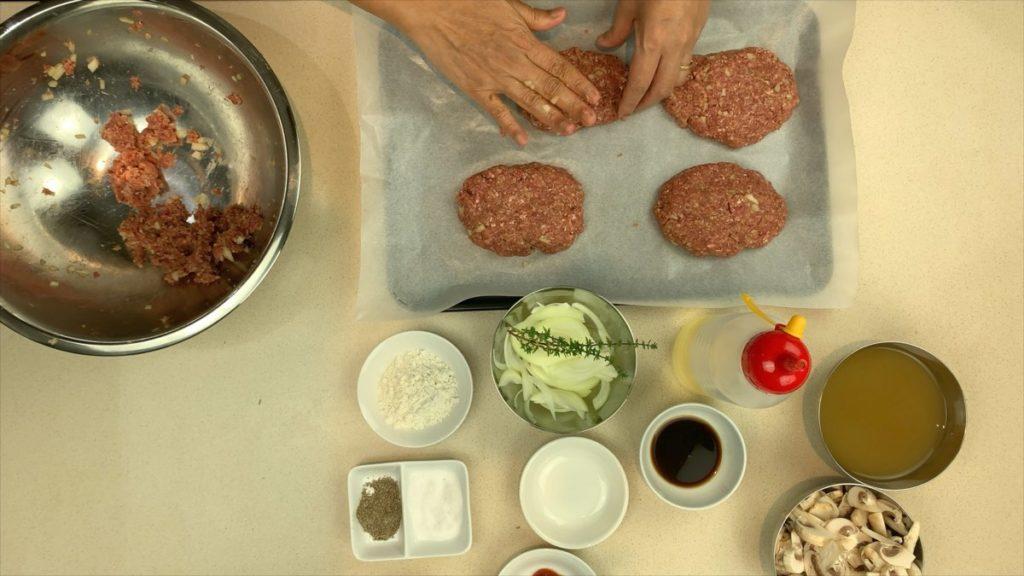 How To Shape Salisbury Beef Patty