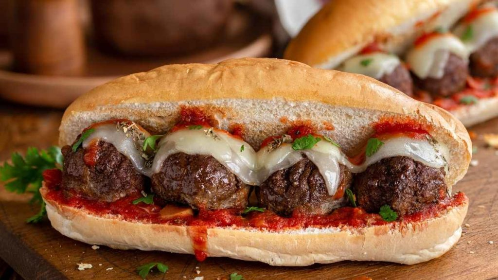 Bite Sized Meatballs For 100 People In a Sub