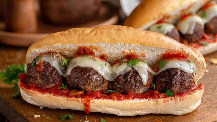 Bite Sized Meatballs For 20 People In a Sub
