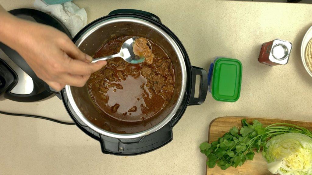 Cook In Instant Pot Beef Tacos