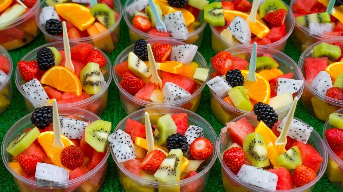 How Much Fruit Salad You'll Need for a Large Group