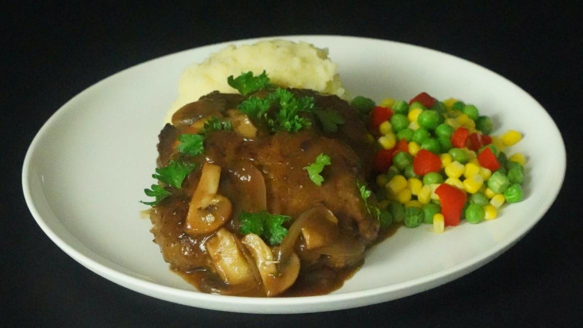 Skillet Salisbury Steak Recipe