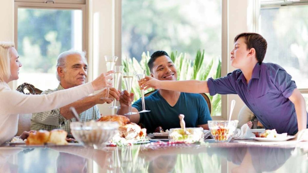 Family Thanksgiving - catered For by you