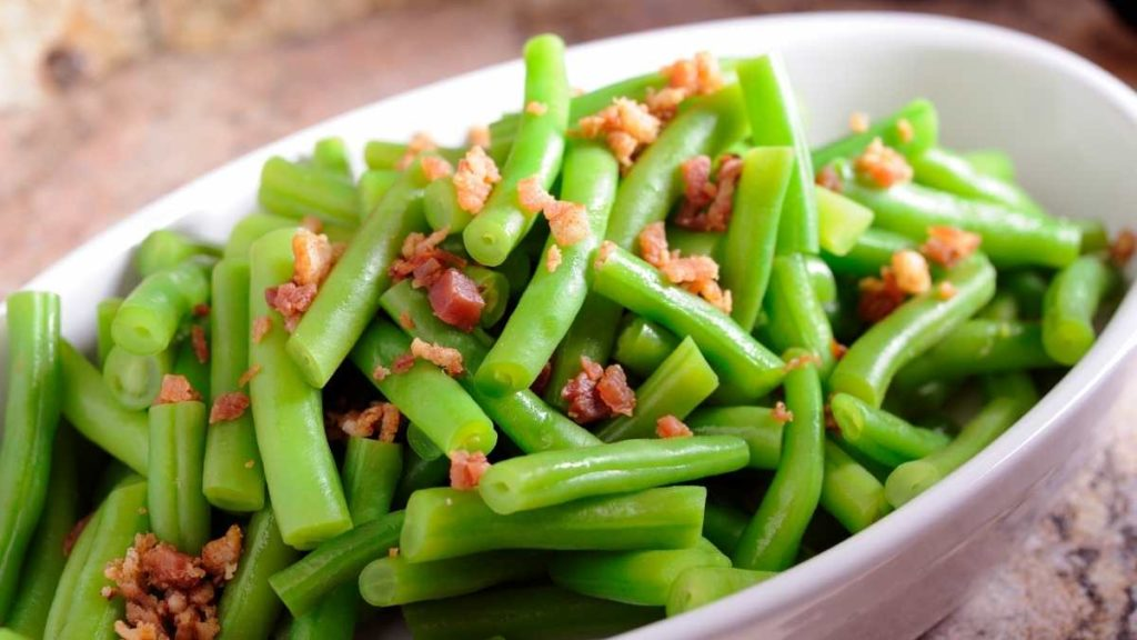 Serve For 25 people Southern Green beans
