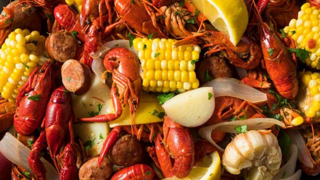 Crawfish for 75 people
