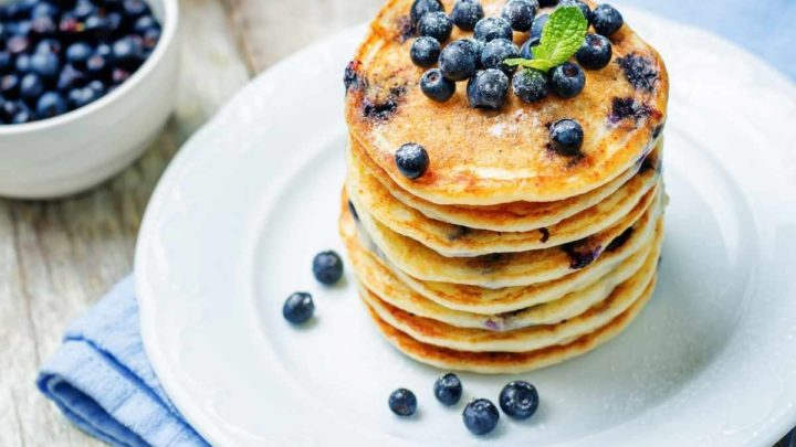 Who does Not Like Blueberry Pancakes For 2