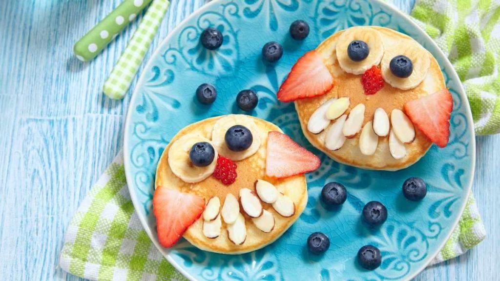 Kids Pancakes Owl