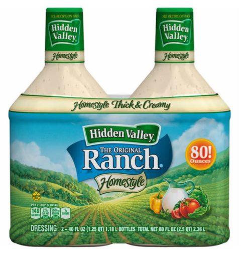 Ranch Dressing Bottles