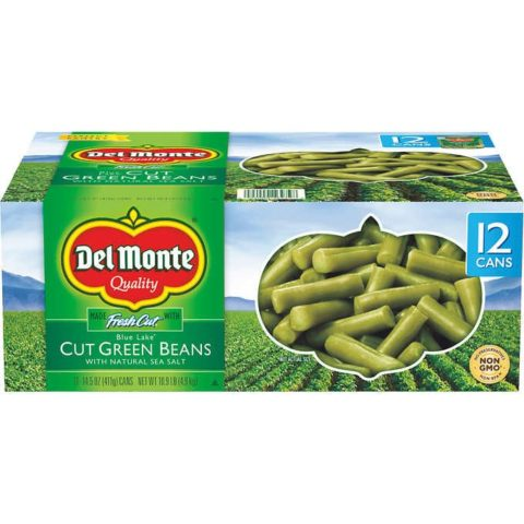 Small Can Of Green Beans