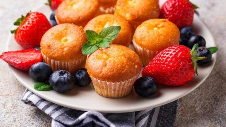 Mini cupcake Platter