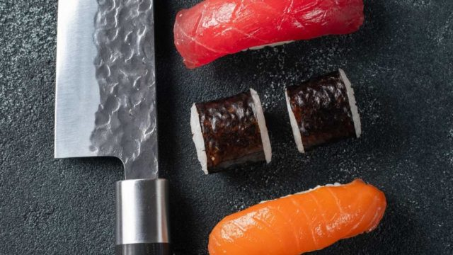 How To Cut Sushi with a Santoku Knife