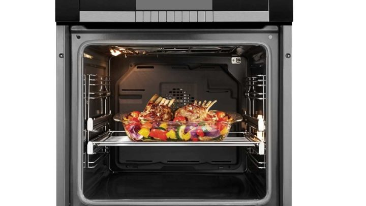 Cooking In The Middle Rack