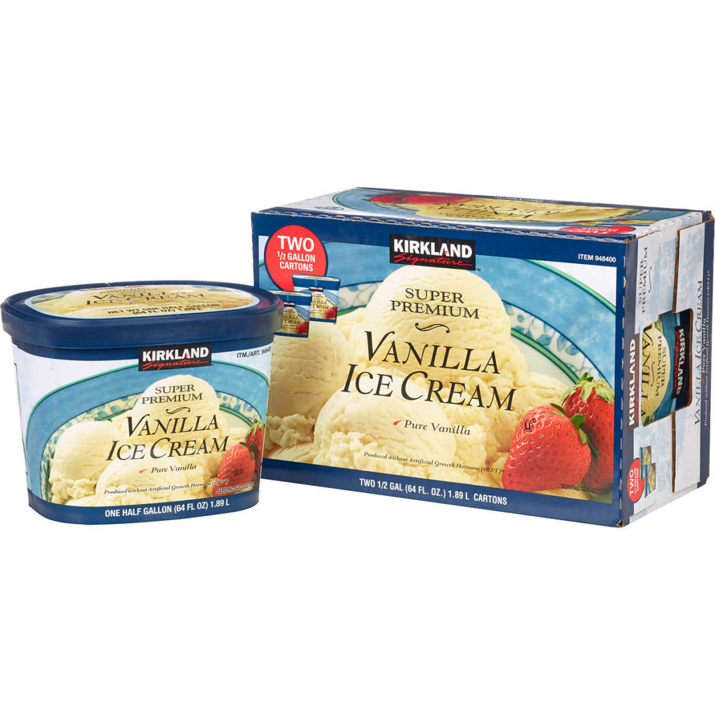 Costco Bulk Ice Cream