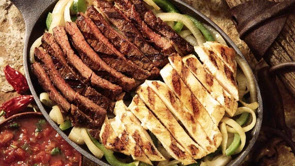 How much Fajita Meat Per Person for 10 People