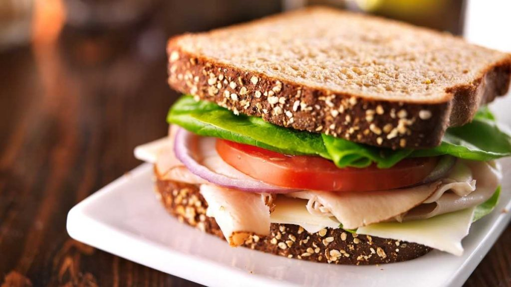 Classic Cheese and Turkey Sandwich