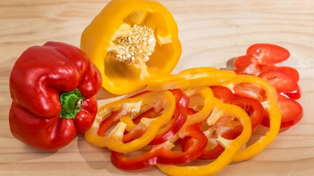 Paprika made mainly from Red Bell Peppers