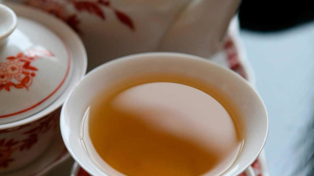 Jasmine Tea Tastes Relaxing