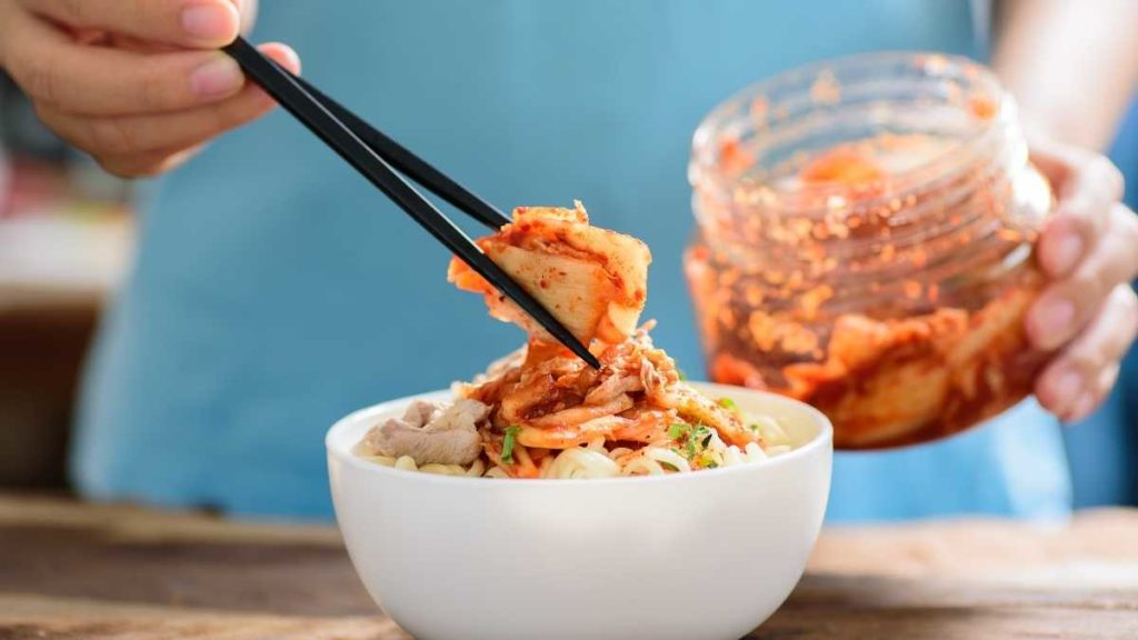 What is kimchi similar to